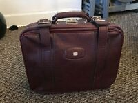 Lovely little hand luggage vintage suitcase