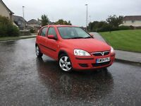 2004 Vauxhall Corsa Energy 5 Door,ONLY 26,000 miles, 1 Year MOT,Full service History,