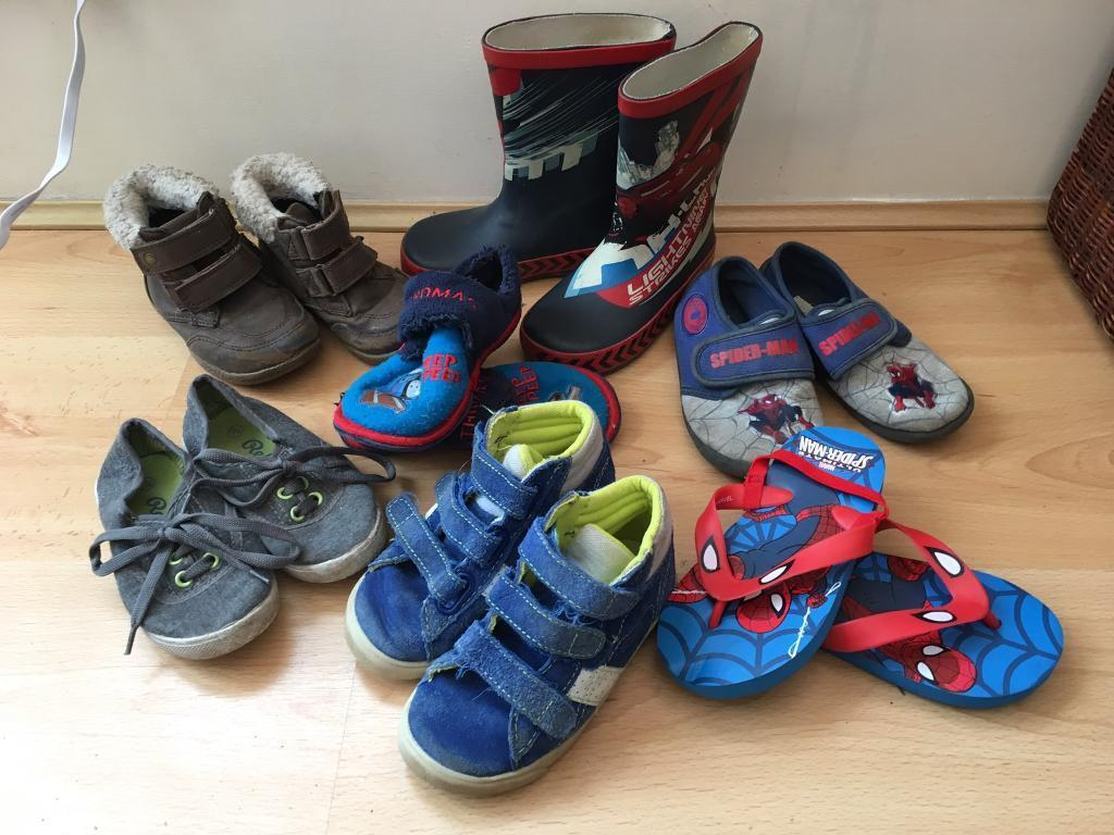 Kids, boys shoes boots wellies size 8