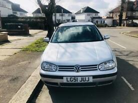 VW GOLF AUTOMATIC 2002/02 / LOW MILAGE