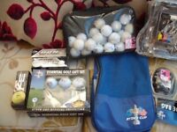 Job Lot Of Golf Accessories (all boxed and good condition)