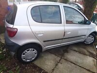 Toyota Yaris for sale!!!!! LOW MILEAGE!!! CHEAP! ONLY £899!!