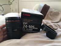 Canon EF 24-105 F/4L IS USM lens for sale