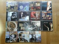 Collection of Blues CDs