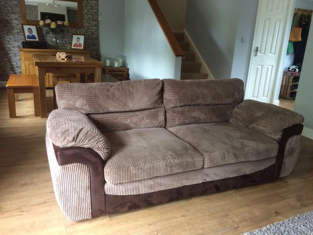 2&3 seater sofas with foot stall
