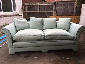 Two x Three Seater Wesley Barrell sofas