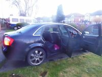 black A4 automatic car in very good condition for sale