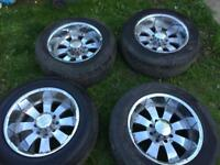 Hummer H2 Rims With Tyres