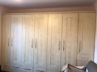 Fitted Wardrobe for sale (excellent condition)
