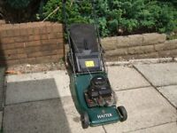 Rotary Mower Hayter Hawk 41 308N Push mower, petrol engine, fully serviced
