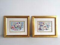 Pair of Prints by Ruth Baderian