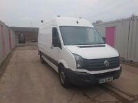 VOLKSWAGEN CRAFTER CR35 TDI 136 MWB ONE KEEPER 61REG FOR SALE