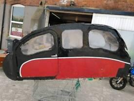 Sidecar body