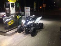 Yamaha raptor 700r swap px cash my way. Oldschool