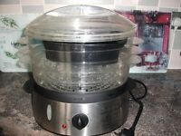3 tier Electric Hitachi food steamer