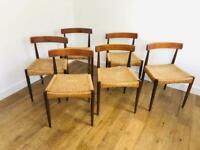 Arne Hovmand Olsen dining chairs for Mogens Kold - mid century classic