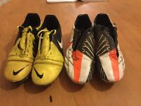 Nike Football boots plus goalie gloves & shinpads - BARGAIN at £20 the lot!