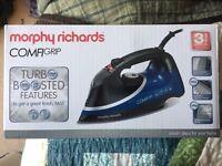 Morphy Richard Comfigrip iron - like new
