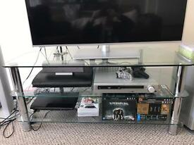 Glass TV Unit No scratches
