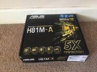 Asus H81M-A Motherboard