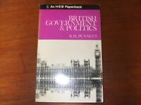 Book - British Government and politics