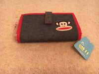Womens PAUL FRANK Designer Denim Purse (with Monkey)