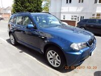 *A TRUE BARGAIN* - BMW X3 3.0d 218bhp M Sport, NO EXPENSE SPARED! Quick Sale Needed!!!