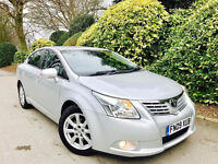**FULL AUTO+LOW MILES** TOYOTA AVENSIS 1.8 VVTI TR AUTO + FULL TOYOTA SRV HSTRY + 2 OWNR + MINT CAR