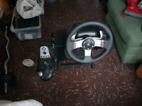 G27 wheel pedels shifter and stand