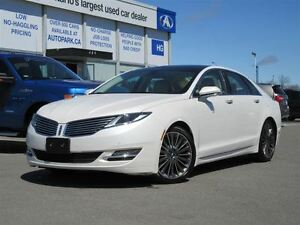 2014 Lincoln MKZ AWD| Navi| Panoramic sunroof| Heated leather