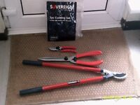 Three Piece Garden Cutting Set. Brand new, never been used.