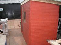 New 8' x 4' Garden Shed