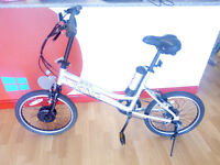 VIKING STREET EASY ELECTRIC BIKE VIRTUALLY BRAND NEW CONDITION
