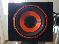 edge 900 watt subwoofer with built in amp
