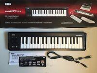 Korg MicroKEY 37 Key Compact MIDI Keyboard.