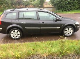 renault megane 1.9 dci diesel . new mot no advisories , just serviced, tidy inide and out