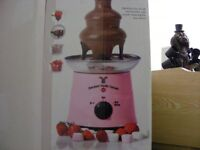 Pink 3 Tier Chocolate Fountain Boxed Only used Once.