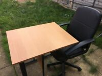 Desk and/or Office Chair FOR SALE