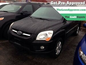 2009 Kia Sportage LX * AWD * LEATHER * POWER ROOF