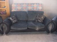2 seater sofa + 2 matching armchairs