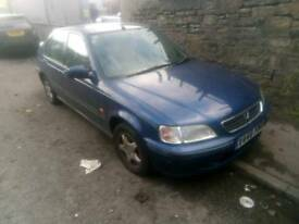 Breaking v reg honda civic