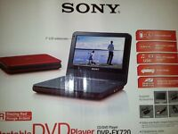 Sony Dvd DVP-FX720 Portable DVD Player