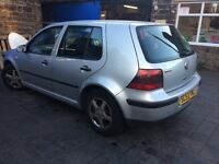 53 plate golf 1.4 final edition-spares or repair