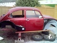 vw bettle shell unfinished project
