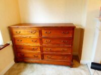 Large Heavy Chest of Drawers Handmade