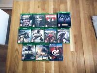 Xbox one and PS4 games