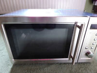New Baumatic Microwave Oven BTM23.1SS