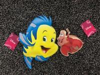 Disney Flounder bag and Sebastian purse NEW