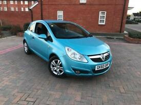 2010/60 VAUXHALL CORSA 1.2 ENERGY 1 LADY OWNER FROM NEW 3 DOORS FREE WARRANTY