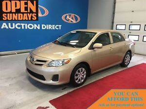 2013 Toyota Corolla LE AUTO! AC! POWER LOCKS! FINANCE NOW!